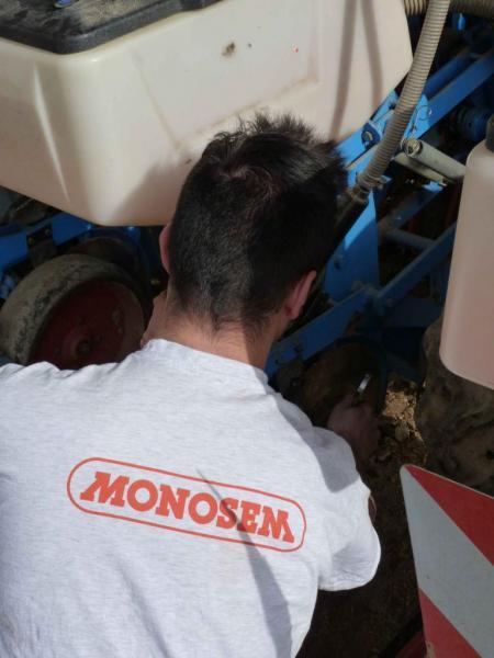 Mise en route Monosem NG+2