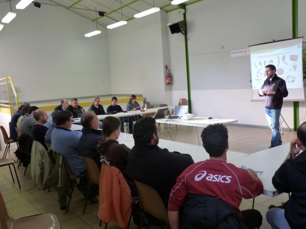 Réduction de travail du sol - AgroDays Chambre d'Agriculture de l'Ariège