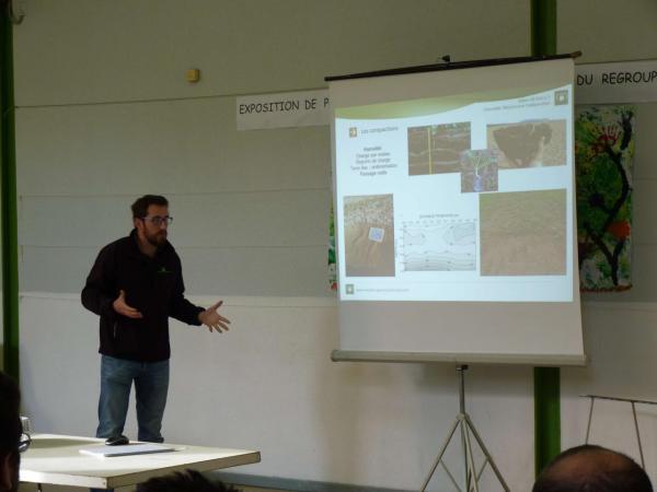 Présentation réduction de travail du sol - Compactions