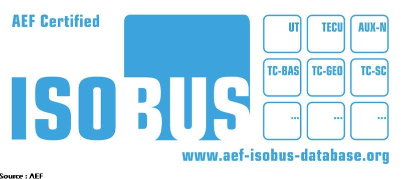 Label de certification aef isobus